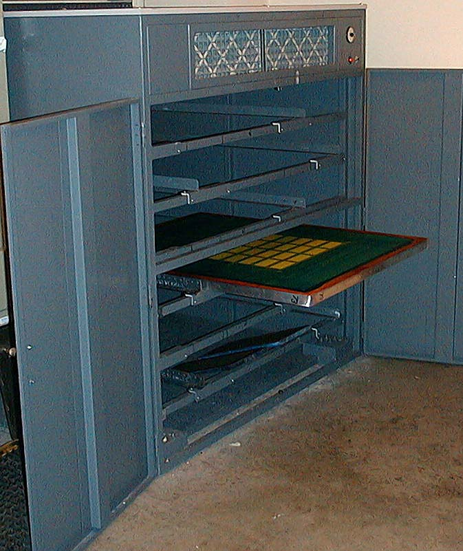 Screen Drying Cabinet ~ Silk screen drying cabinets